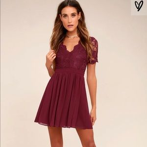 Lulus Angel in Disguise Skater Dress